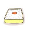 日の丸弁当のイラスト