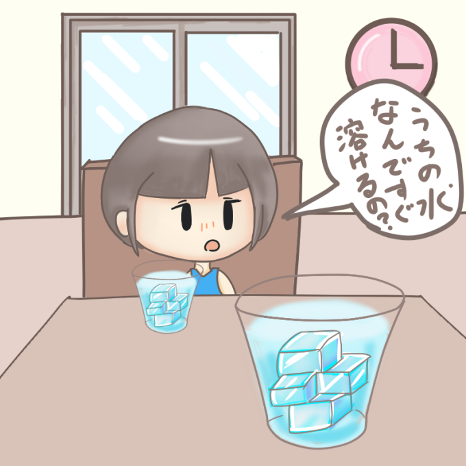 溶けない氷の作り方