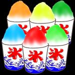苺、檸檬、抹茶…!かき氷のイラスト7種&線画