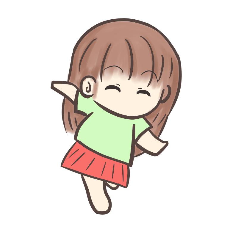 裸足で走る女の子2