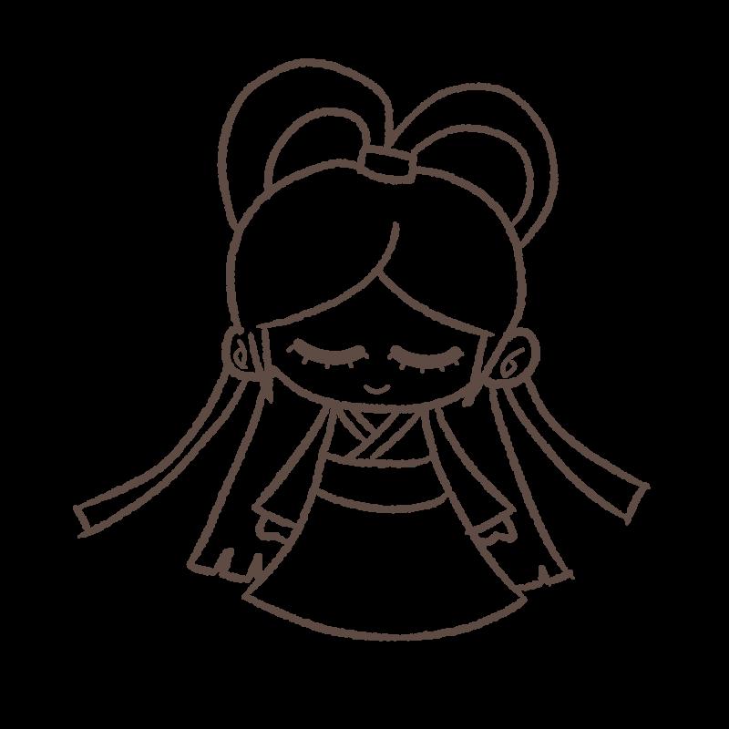 織姫様 線画
