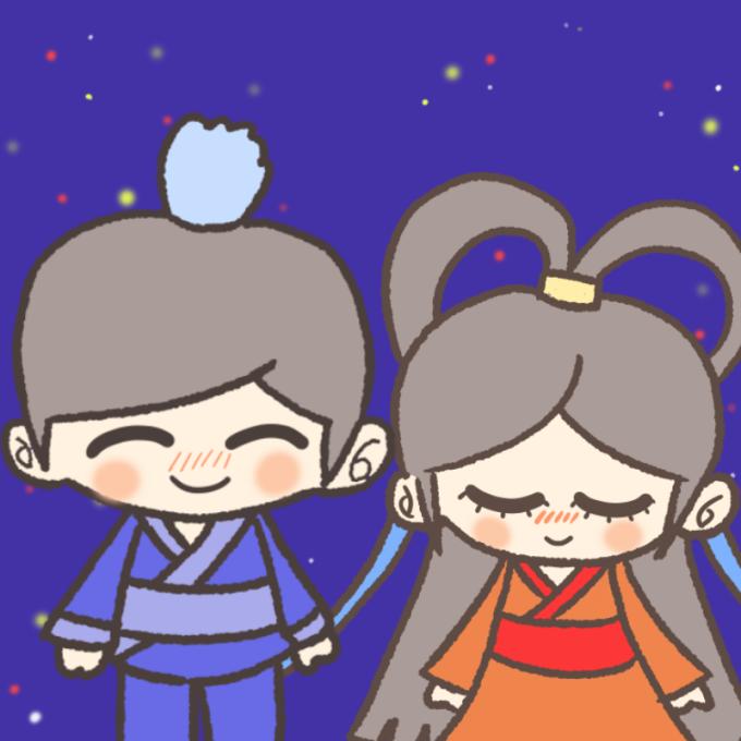 彦星様と織姫様 アイキャッチ
