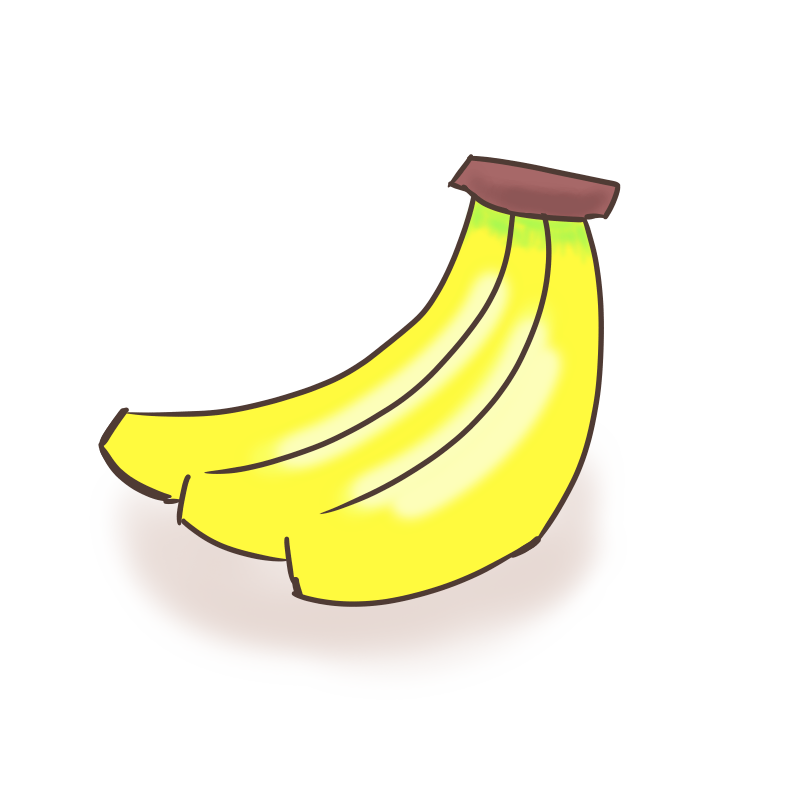 ざっくりとバナナ