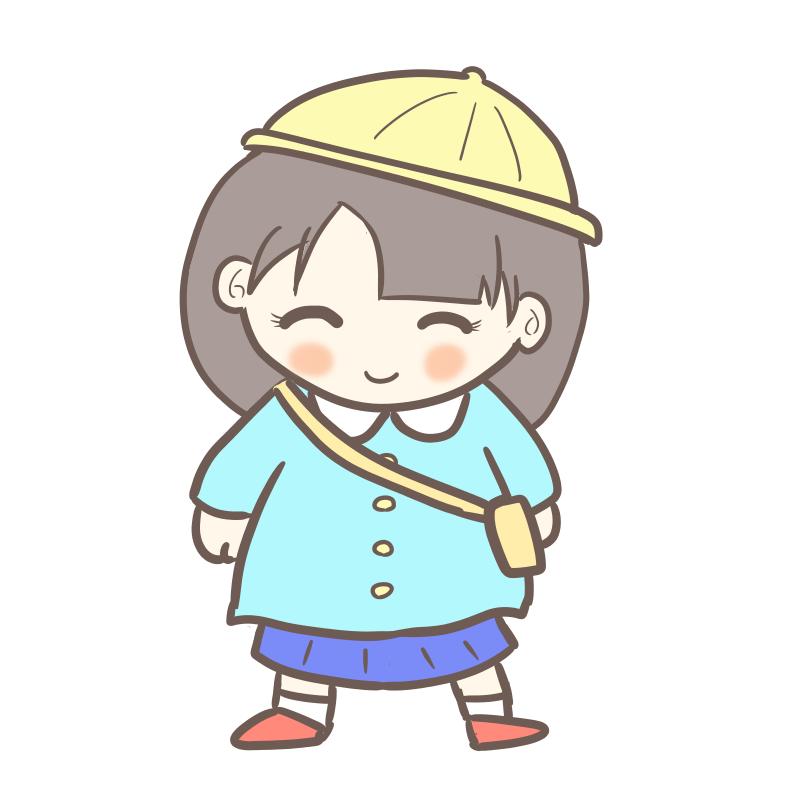 入園式 女の子