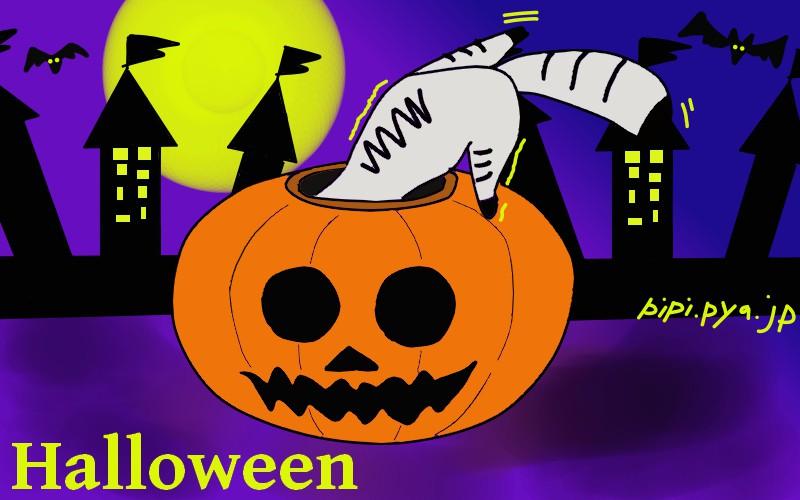 かぼちゃからモンスターまで!ハロウィンのフリーイラスト描いてみた