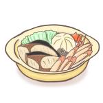 食物繊維ダイエット鍋の決定版!ダイエットごぼう鍋の材料とイラスト