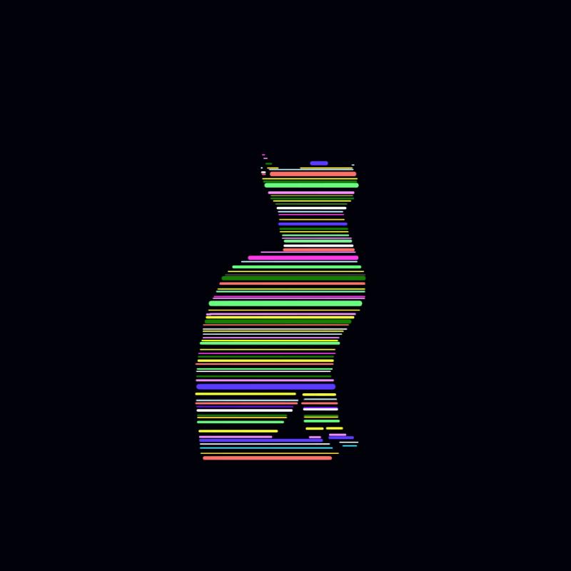 ファースト線だけ猫